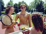 Florida's growing network of nude resorts offer tennis tournaments, ...