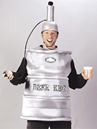 This $62 Keg Man costume available at Halloween Express actually dispenses beer. (Halloween Express)  sc 1 st  ABC News & ABC News: Move Over Dracula: Here Comes Keg Monster!